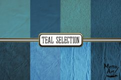 Teal Selection - 16 Digital Papers/Backgrounds Product Image 2