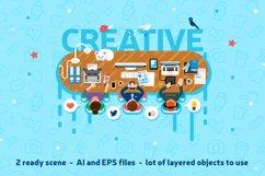 Office Workspace Scene Creator Product Image 1