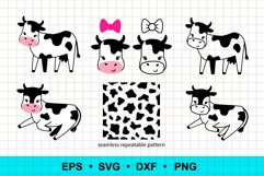 Funny cows clip art Product Image 1
