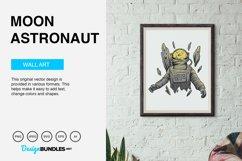 Moon Astronaut Vector Illustration Product Image 5