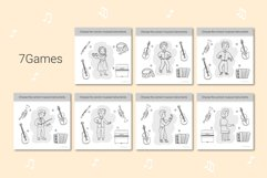 Musical Instruments Activities for kids. Product Image 5