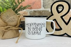 Web Font Mother's Day - A Silly Hand-Lettered Font Product Image 5