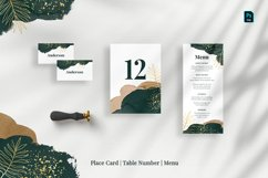 Tropical Abstract Wedding Suite Product Image 4