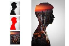 Double Exposure Photoshop Action Product Image 9