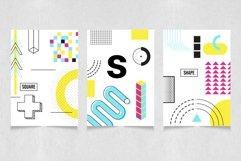 Neon geometric shape,poster,patten Product Image 16