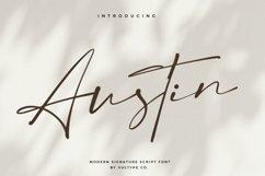 Austin SIgnature Font Product Image 1