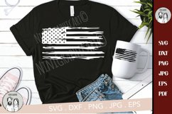 American flag distressed, Distressed USA Flag svg, Product Image 3