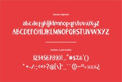 Little Santa Font | merry christmas font | 8 christmas cards Product Image 6