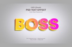 Boss 3 Gradient Text Effect Product Image 1