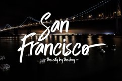 Skytree Script Brush Font Product Image 6