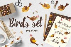Birds set vector,jpg,png Product Image 1