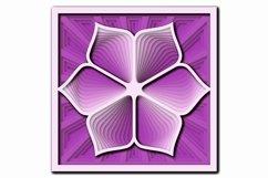 Layered Mandala SVG, Laser cut file Mandala, 3D Flower Product Image 7