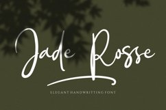 Jade Rosse - Signature Font Product Image 1