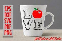 Teacher Svg Teach Love Svg School Svg Love School SVG Love S Product Image 9