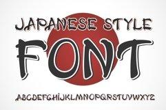 Japanese OTF vintage label font. Uppercase only! Product Image 1