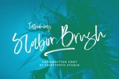 Slabor Brush Font Product Image 1