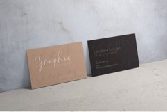 Clean Minimal Business Card Product Image 4
