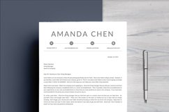 Clean Professional Resume Template Word Product Image 5