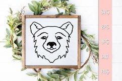 Precious Bear SVG Cut File Product Image 3