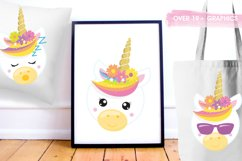 Unicorn emojis Graphics and illustrations, vecto Product Image 5