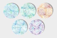 Vibrant waves seamless patterns set Product Image 3
