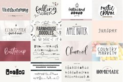 Farmhouse Font Bundle - Handwritten Fonts for Crafters! Product Image 10