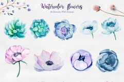 Winter. Watercolor collection. Product Image 8