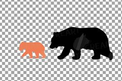 Baby and mama bear nursery clip art collection, bears print Product Image 16