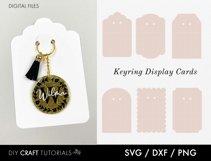 Keyring Display Card Svg BUNDLE, Packaging SVG, Keychain SVG Product Image 4