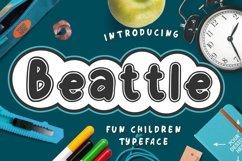 Beattle Fun Children Typeface Product Image 1