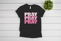 Pray On It SVG files for Cricut, Pray Over It svg cut file Product Image 2