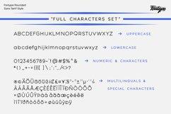 Fontype Rounded - Font Family Product Image 5