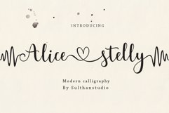 Alice stelly Product Image 1