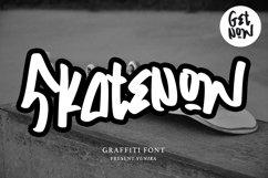 Skatenow | Graffiti Font Product Image 1