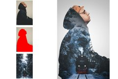 Double Exposure Photoshop Action Product Image 3