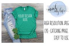 Bella Canvas Mockup / Plain Shirt Mock up Product Image 1