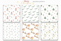 Merry Christmas watercolor collection Product Image 4