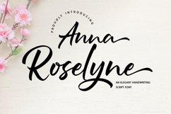 Anna Rosselyn | Elegant Handwriting Script Font Product Image 1