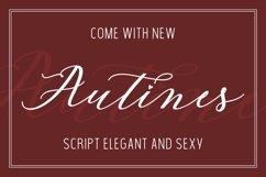 Autines Script Product Image 5