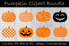 Pumpkin SVG Bundle - Pumpkin Clip Art Product Image 1