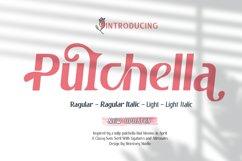 Pulchella Bold Serif Font | New Updates Product Image 1
