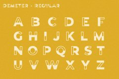 Demeter // A Fun Display Font Product Image 2