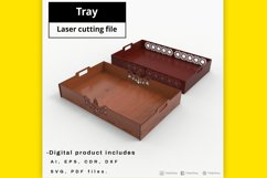 Tray - laser cut file Product Image 3