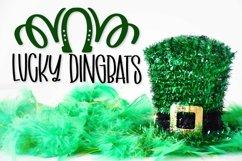 Web Font Lucky Dingbats - A Dingbat St Patrick's Day Font Product Image 1