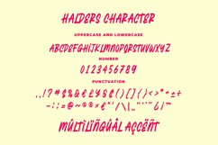 Halders - Playfull Typeface Product Image 4