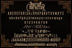 Web Font Therion Typeface Ornament Bonus Product Image 5