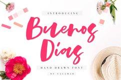 Buenos Dias Font + Extras Product Image 1