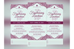 Fundraising Luncheon Ticket Template