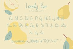Lovely Pear | hand-written font Product Image 2