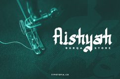 Assyam - Arabic Themed Typeface Product Image 6